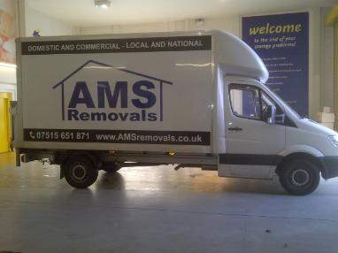AMS Removals and Storage Van
