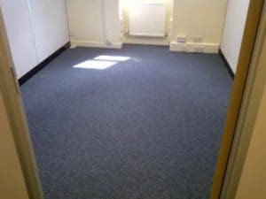 Empty room in York House