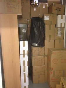 boxes stored securely in housemovers van image 01